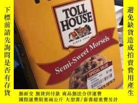 二手書博民逛書店NESTLE罕見TOLL HOUSE SEMI-SWEET MO