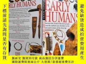 二手書博民逛書店EARLY罕見HUMANS DK Eyewitness Book