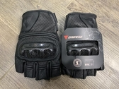 手套摩托車騎士丹尼斯半指手套賽車機車騎行裝備防摔牛皮透氣夏季男女 HOME 新品