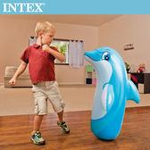 【INTEX】動物造型充氣不倒翁-海豚