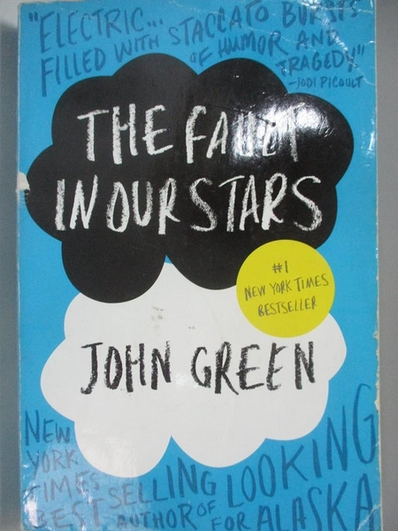 【書寶二手書T3/原文小說_ADK】The Fault in Our Stars_John Green