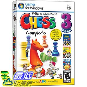 [106美國暢銷兒童軟體] Learn to Play Chess with Fritz & Chesster: Chess Complete 3-Pack