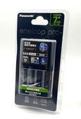 國際 Panasonic eneloop pro ( 950mah 4號電池 2顆) + (BQ-CC17 電池充電器) K-KJ17HC02TW  公司貨