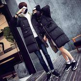情侶棉衣中長款冬季2018韓版寬鬆學生面包服女棉襖加厚棉服外套男『新佰數位屋』