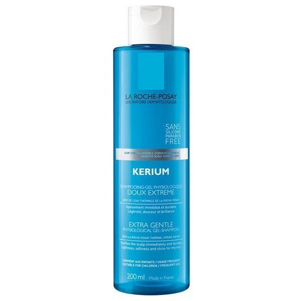 專品藥局 理膚寶水 敏感性頭皮溫和洗髮露 200ml (理膚全系列滿1200元贈敏感肌明星旅行組)