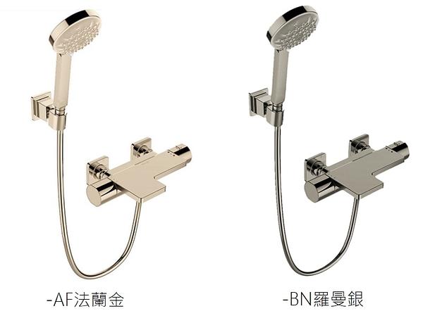 【 麗室衛浴】美國KOHLER活動促銷 Parallel 定溫淋浴龍頭組 法蘭金K-23523T-9-AF / 羅曼銀-BN