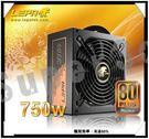 新竹【超人3C】LEPA 利豹 銅牌B系列 750W 80Plus 模組化電源供應器 /13.5公分風扇