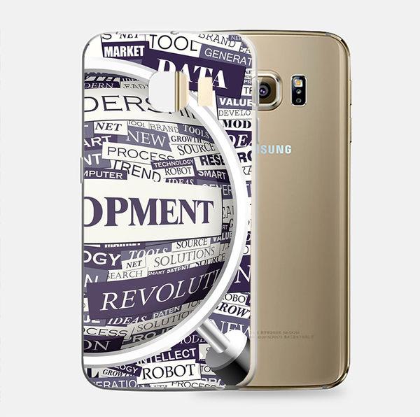♥ 俏魔女美人館 ♥Samsung Galaxy S7 {放大鏡]'*立體浮雕軟殼} 手機殼 手機套 保護殼