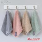 擦手巾 3條裝擦手巾掛式比棉質軟珊瑚絨廚房家用舒適超強吸水加厚方巾