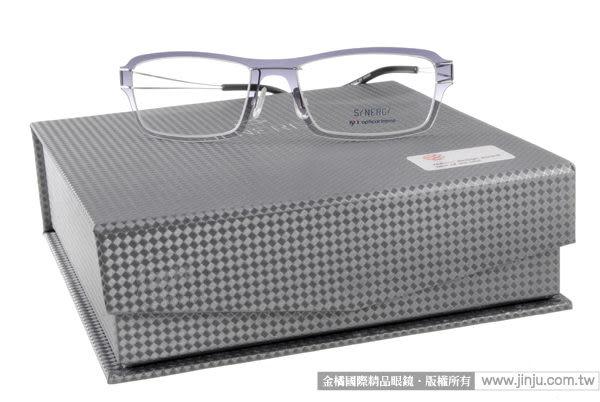 SYNERGY 光學眼鏡 SY3605 C129 (漸層黑) NXT 防彈材質 極簡結構 平光鏡框 # 金橘眼鏡