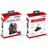[哈GAME族]免運費 可刷卡 Switch NS DOBE TNS-879 JoyCon + Pro控制器 兩用充電座 座充 壓克力指示燈