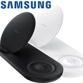 【拆封新品】Samsung 原廠無線閃充充電座(雙座充) EP-N6100-黑色