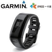Garmin vívosmart HR ipass 腕式心率智慧手環-黑
