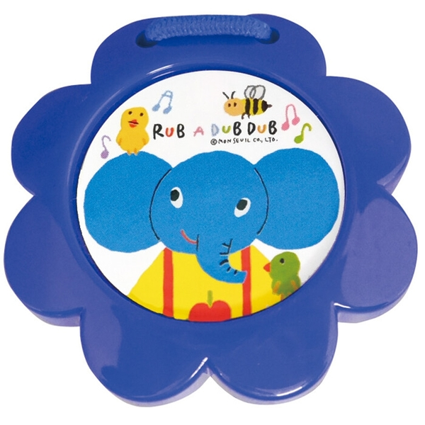 【日本製】【Rub a dub dub】幼童用寶寶玩具 動物響板 大象(一組:3個) SD-9215 - Rubadubdub