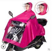 雨衣麥雨摩托車電動車雨衣單雙人電瓶車三帽檐加大加厚男女雨披防暴雨 非凡小鋪