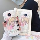鐳射美少女心美圖t9手機殼t8日繫卡通可愛m8超薄軟殼【聚可愛】