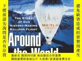 二手書博民逛書店Around罕見the World in 20 Days: The Story of Our History-Ma