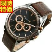 石英錶-率性熱銷明星同款女腕錶4色5j34[巴黎精品]