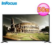 【InFocus 富可視】50型 4K連網液晶顯示器+視訊盒(XT-50IP600)