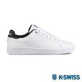 K-Swiss Clean Court CMF休閒運動鞋-男-白/黑