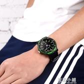 古騰學生手錶男初中電子石英錶青少年防水男錶高中男孩兒童手錶潮 QM 藍嵐