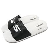 Skechers 拖鞋 Hyper Slide 男鞋 白 黑 超Q彈 舒適 緩震 運動拖鞋【ACS】 220230BKW