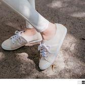 《SD0167》台灣製造~人造皮革線條設計休閒運動鞋 OrangeBear