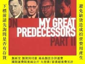 二手書博民逛書店Garry罕見Kasparov On My Great Predecessors, Part 2Y255562
