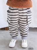 男童褲子加厚冬裝寶寶棉褲加絨褲嬰兒保暖褲2歲大PP褲