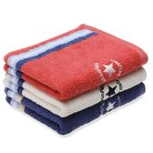 棉田高爾夫純棉運動【短】毛巾2條裝 加厚吸水刺繡成人洗臉面巾