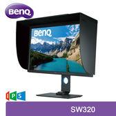 【免運費】BenQ 明基 SW320 32型 4K HDR 專業色彩管理螢幕 / IPS 10bit 面板 / 色彩校正 / 純數位介面