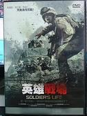 挖寶二手片-N05-079-正版DVD-電影【英雄戰場】-在伊拉克的每一天 是生是死你永遠不知道-麥喬瑞賴可