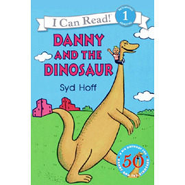 【汪培珽書單】〈An I Can Read系列:Level 1 〉DANNY AND THE DINOSAUR/書+CD