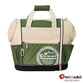 DaisukiCS02雙露頭後背寵物袋(L)CS02-LG-綠白(L)
