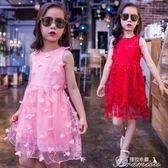 兒童洋裝 女童洋裝子新款夏裝洋氣6韓版7時尚8女孩9夏季兒童十歲公主  提拉米蘇