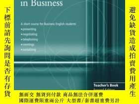 二手書博民逛書店Communicating罕見In Business Teach