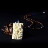 毛衣鍊 民族風苗銀-手工編織生日母親節禮物女項鍊73hf85【時尚巴黎】