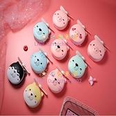 小風扇小豬風扇美妝鏡迷你口袋手持便攜式隨身小型學生可愛【奇妙商舖】