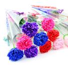 母親節禮物-康乃馨肥皂花 (單支) 創意禮品 婚禮小物