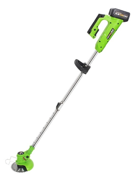 割草機 宏馬鋰電割草機家用小型輕便充電式除草機多功能電動打草修 晶彩LX