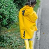 女童男童幼兒園小孩小童雨披2-6歲恐龍秋冬防風加厚寶寶兒童雨衣·皇者榮耀3C