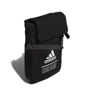adidas 斜背包 Classic Organizer Bag 黑 白 男女款 小包包 運動休閒 【PUMP306】 FM6874