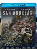 影音專賣店-Q00-177-正版BD【加州大地震 3D+2D】-藍光電影