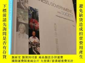 二手書博民逛書店BUSINESS,GOVERNMENT,AND罕見SOCIETY (Eleventh Edition)Y583