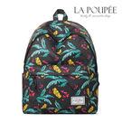 後背包 熱帶彩色芭蕉樹印花A4大容量書包-La Poupee樂芙比質感包飾 (預購+好禮)