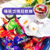 土耳其 Damla 岱瑪菈 什錦軟糖 (桶裝) 600g 水果 軟糖 夾心 糖果 Tayas