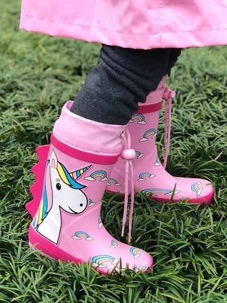 兒童雨鞋男童女童小童中大童幼兒園小孩寶寶防滑雨靴膠鞋水鞋套鞋
