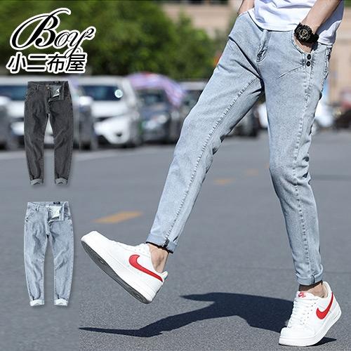 牛仔褲 潮流抓痕設計街頭個性丹寧褲【NZ750102】