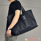 旅行包 男士行李袋手提短途旅行包大容量行李包尼龍防水旅行袋休閒旅游包 愛丫 免運