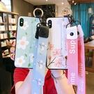 S8/S9/N8/N9三星保護套 S10/S10e/S10 Plus保護殼 腕帶簡約三星手機殼 清新SamSung Note 10 Plus手機套